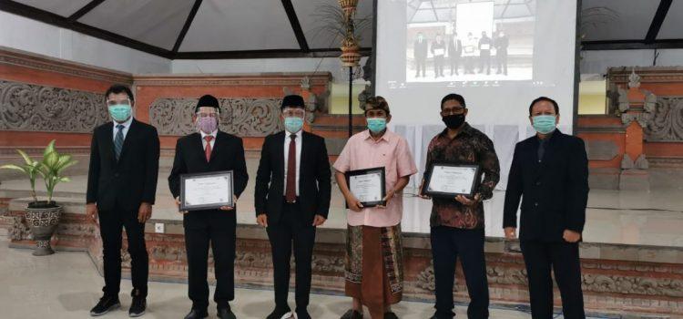 UNW Mataram Raih Penghargaan Pemenang Hibah Penelitian Terbanyak